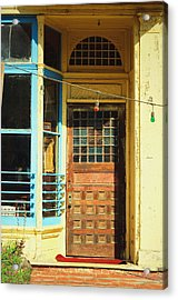 The Old Door At Port Costa Acrylic Print