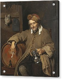 The Old Drinker, 1663 Acrylic Print