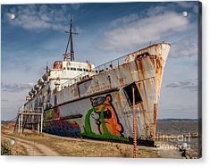 Acrylic Print featuring the photograph The Old Duke by Adrian Evans