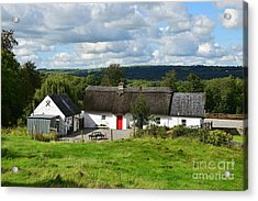 The Old Farm Cottage Acrylic Print
