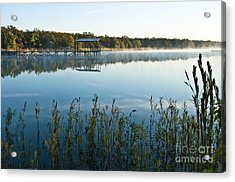 Acrylic Print featuring the photograph The Old Fishing Pier by Tamyra Ayles