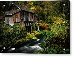 The Old Flour Mill Acrylic Print