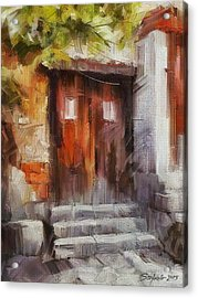 The Old Gate II Acrylic Print