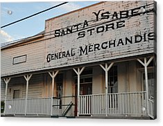 The Old General Store Acrylic Print