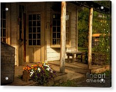 The Old General Store Acrylic Print by Lois Bryan