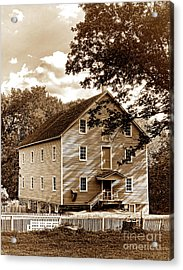 The Old Gristmill  Acrylic Print by Olivier Le Queinec