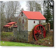 The Old Guilford Mill Acrylic Print