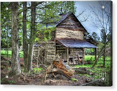 The Old Home In The Hills Acrylic Print
