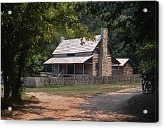 The Old Homeplace - 1 Acrylic Print by Randy Muir
