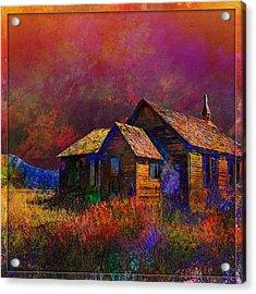 The Old Homestead Acrylic Print