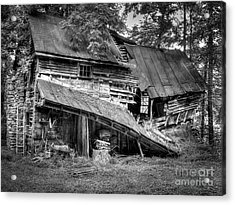 The Old Homestead Acrylic Print by Douglas Stucky