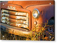 The Old Jimmy Acrylic Print by Patricia Stalter