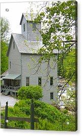 The Old Kingsley Mill Acrylic Print by Rosalie Scanlon