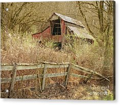 The Old Knob Creek Barn Tennessee Acrylic Print