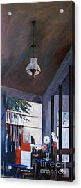 The Old Lamp Acrylic Print by George Siaba