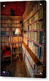The Old Library Acrylic Print by Adrian Evans