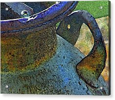 The Old Milk Can Acrylic Print