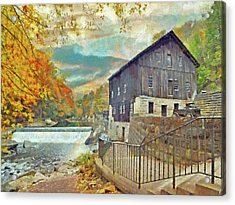 The Old Mill At Mcconnells Mill State Park Acrylic Print