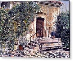 The Old Mill El Molina Viejo Acrylic Print