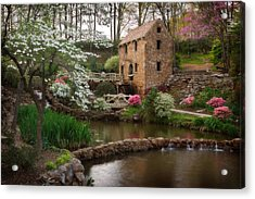 The Old Mill Acrylic Print by Jonas Wingfield