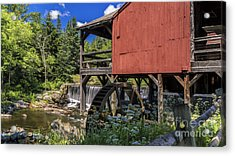 The Old Mill Museum. Acrylic Print