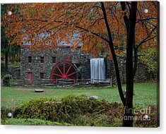 The Old Mill New England  Acrylic Print