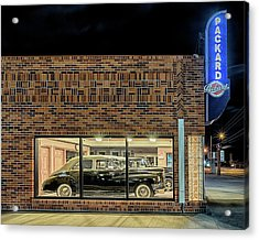 The Old Packard Dealership Acrylic Print