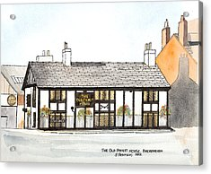The Old Packet House Acrylic Print by Max Blinkhorn