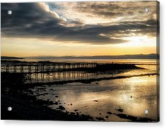 The Old Pier In Culross, Scotland Acrylic Print