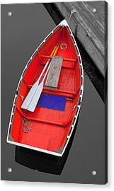 The Old Red Lobster Boat  Acrylic Print