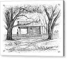 The Old Richardson Place Acrylic Print