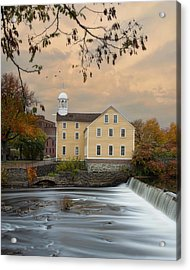 The Old Slater Mill Acrylic Print