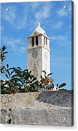 The Old Tower Acrylic Print by Armand Hebert
