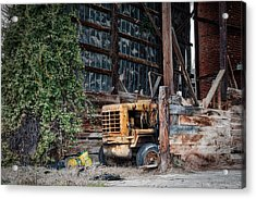 The Old Train Depot Acrylic Print