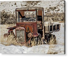 The Old Truck Acrylic Print