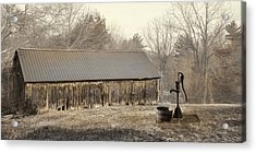 Acrylic Print featuring the photograph The Old Well Pump by Robin-Lee Vieira