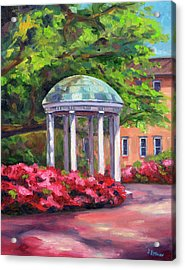 The Old Well Unc Acrylic Print