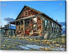 The Old Wendel General Store Acrylic Print by James Eddy