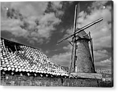 The Old Windmill Acrylic Print by Jeremy Lavender Photography