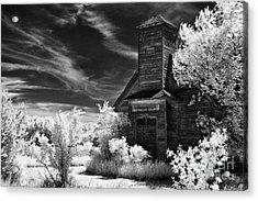 The Old Wood Church  Acrylic Print