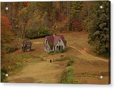 The Oldest House In North Carolina Acrylic Print by Sharon Batdorf