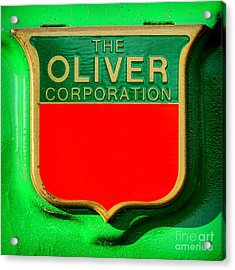 The Oliver Corporation Acrylic Print
