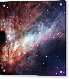 Acrylic Print featuring the photograph The Omega Nebula by Eso