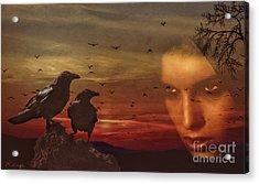 The Omen Acrylic Print