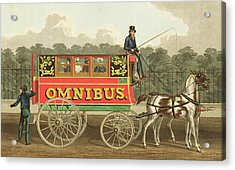 The Omnibus Acrylic Print by Robert Havell