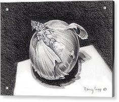 The Onion Acrylic Print