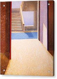 The Open Door Acrylic Print by Gloria Cigolini-DePietro