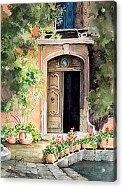 The Open Door Acrylic Print