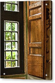 The Open Window Acrylic Print by Lynn Andrews