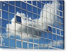 The Open Windows Acrylic Print by Tim Gainey